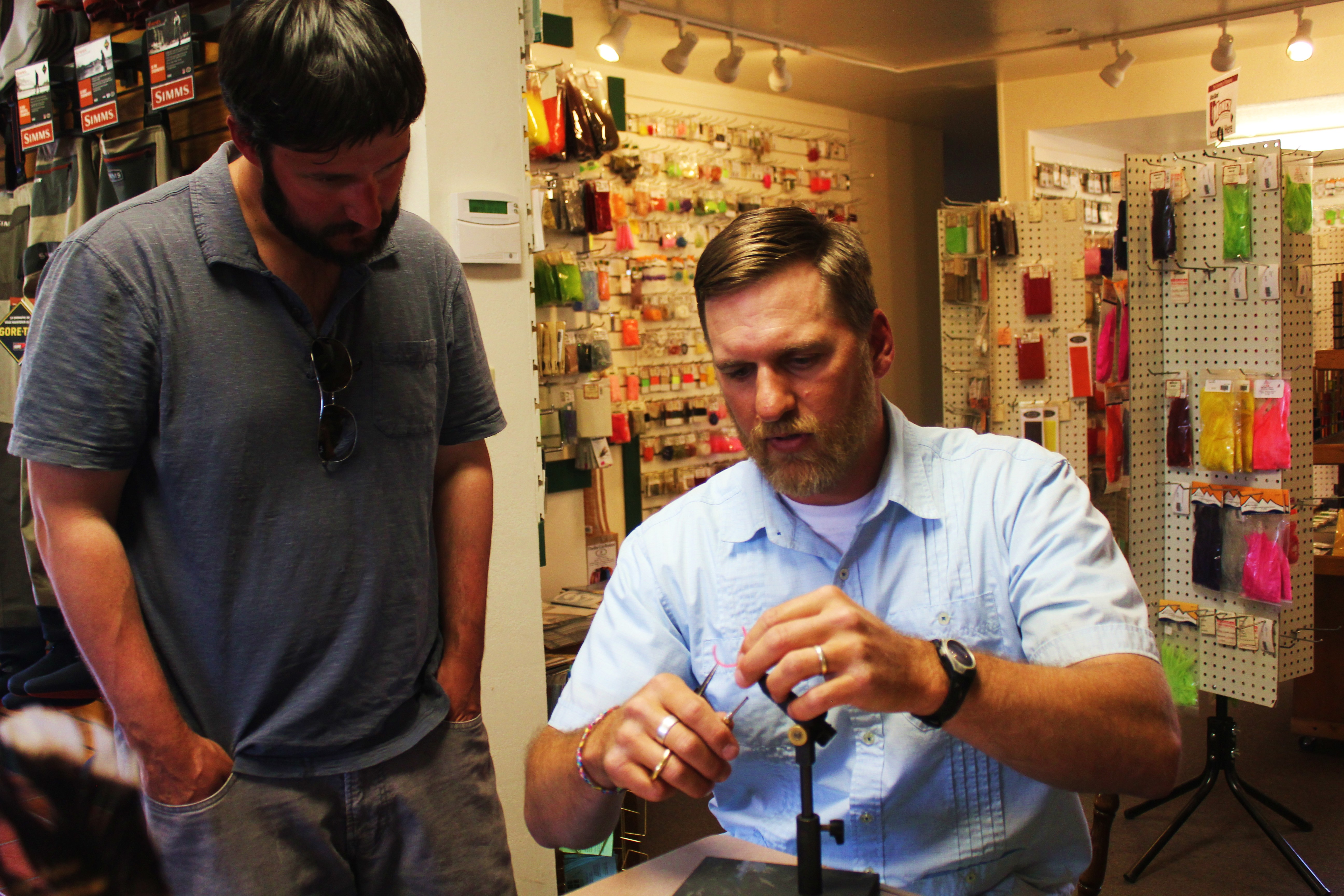 Fly Tying Lessons