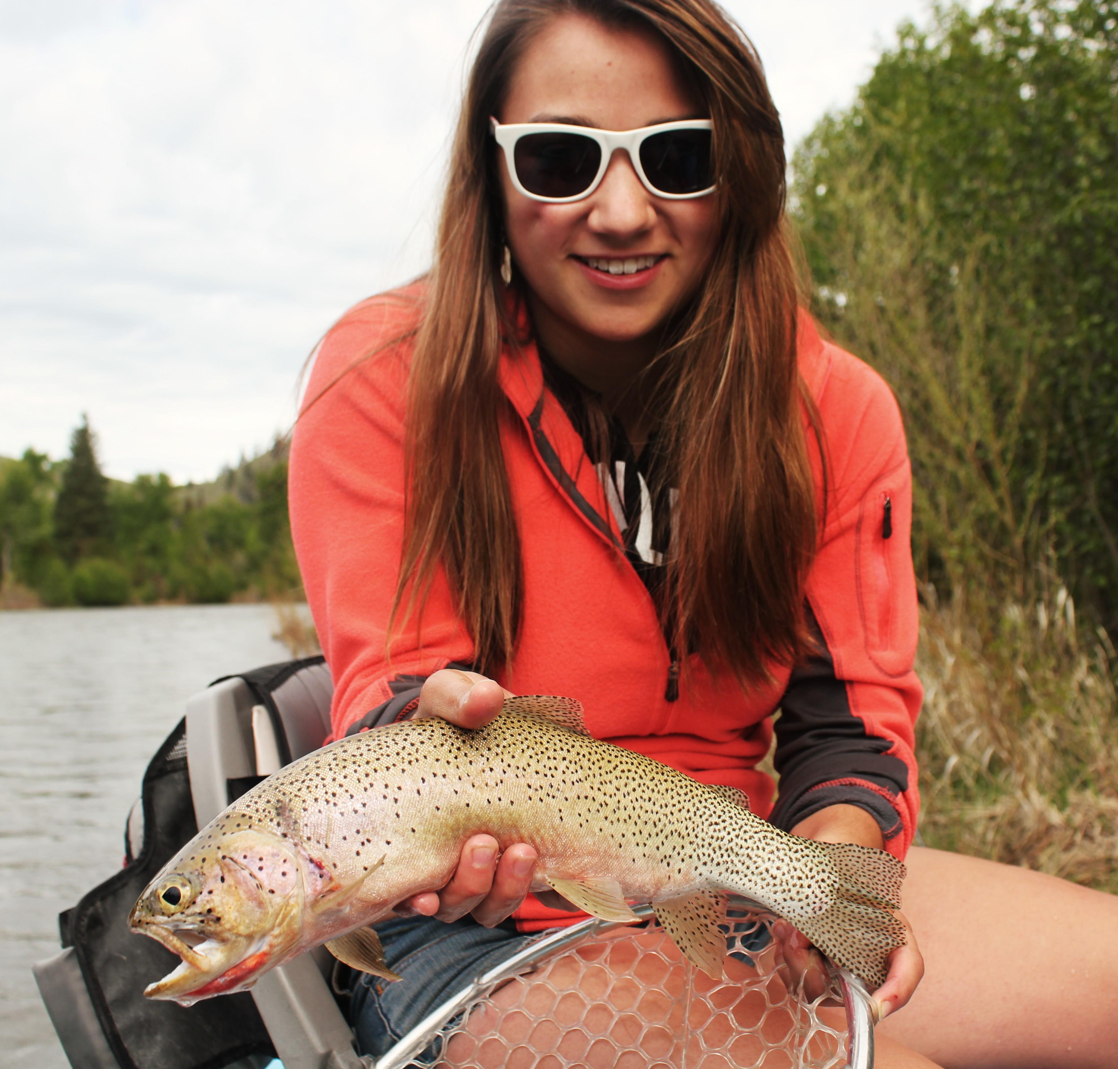 Women Fly Fishing