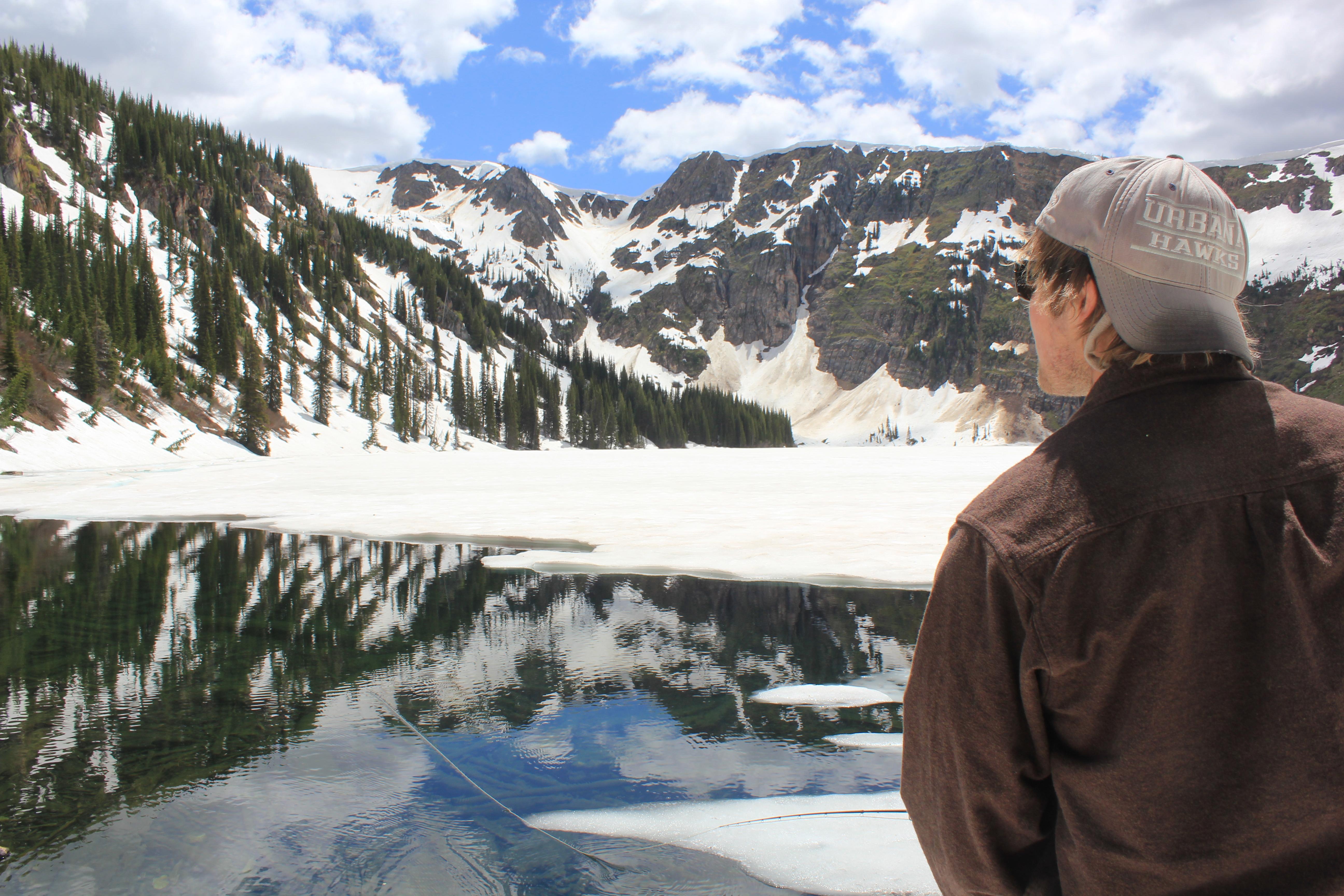 Fly Fishing Alpine Lakes